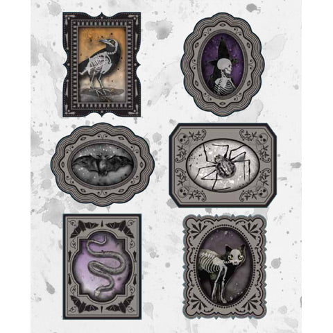 Halloween Lenticular 3d Stickers by Martha Stewart