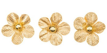Gold Flower Embellishments
