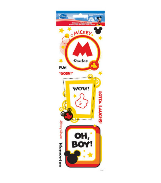 Disney Mickey Mouse Frames Sticker Sheet