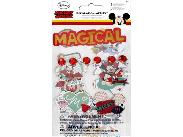 Mickey Mouse Chipboard Stickers
