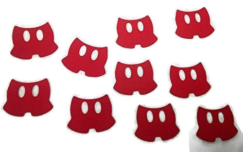 Mickey Mouse Red Pants Die Cuts - 20piece
