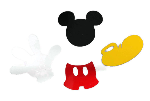 Mickey Mouse Vinyl Sticker Decals 4 Inch