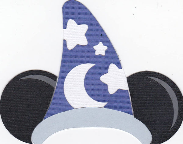 Mickey Mouse Sorcerer Paper Piecing