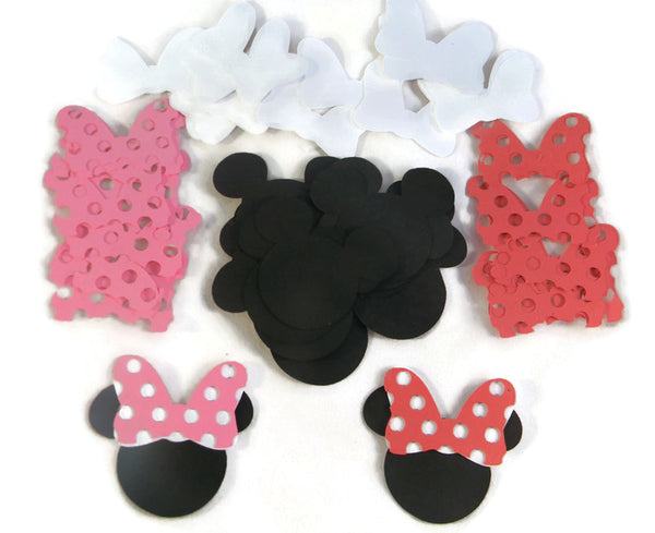 Minnie Mouse Die Cuts Scatter Confetti Scrapbooking