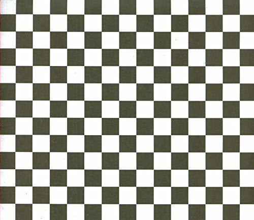 Black and White Checkered Scrapbook Paper 12x12