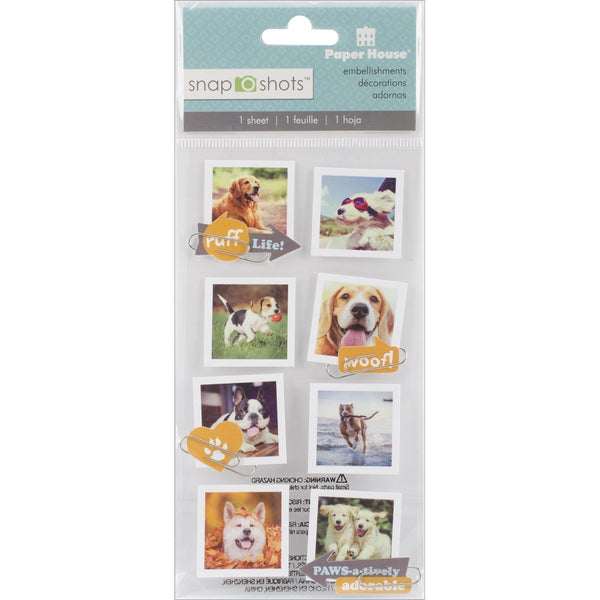 Dog Snapshot Stickers by Paper House