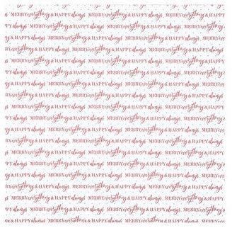 Merry Everything Christmas Scrapbook Paper