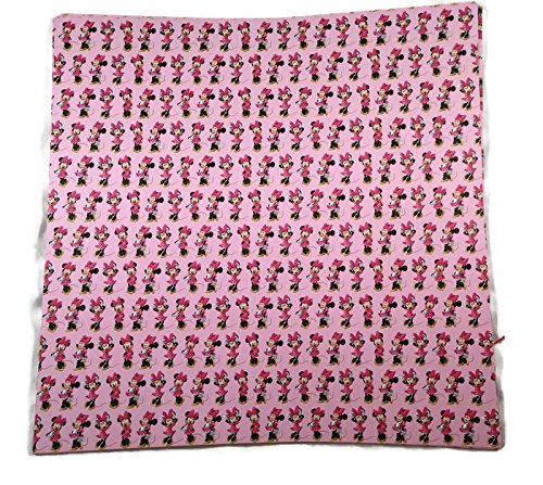 Pink Minnie Mouse Scrapbook Paper 12x12 4 Sheets