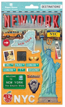 Paper House New York Stickers 2d