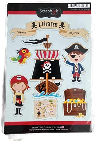 Pirate Stickers by Scrapbook Customs