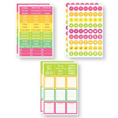 May Planit Stickers by Reminisce Planner Stickers