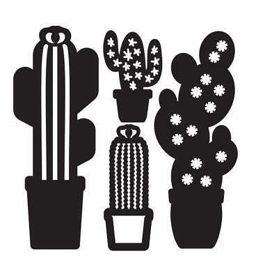 Potted Cacti Cactus Metal Cutting Dies