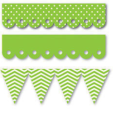Queen & Co EDGERS - Green Borders Self Adhesive