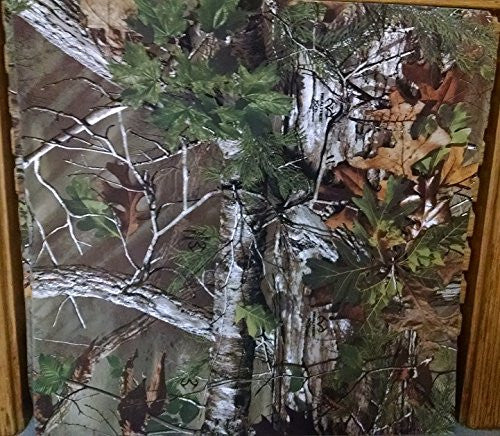 Realtree Green Camo Camouflage 12x12 Scrapbook Paper - 4 Sheets