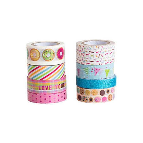 Sweet Treats Washi Tape Assortment Set
