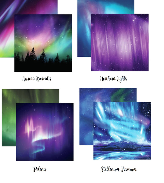Aurora Scrapbook Papers by Reminisce