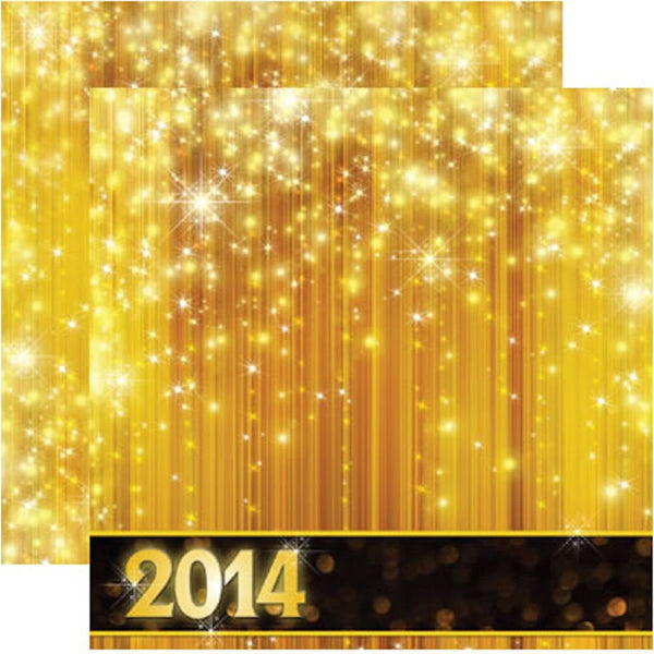 2014 - 12X12 Scrapbook Papers - 5 sheets