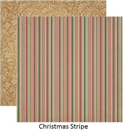 A Christmas Story - Striped - 5 Sheets - by Reminisce