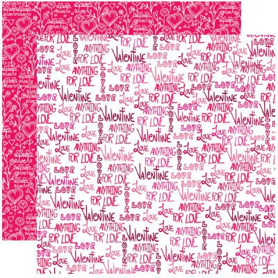 Valentines ANYTHING FOR LOVE Papers - 5 Sheets - by Reminisce