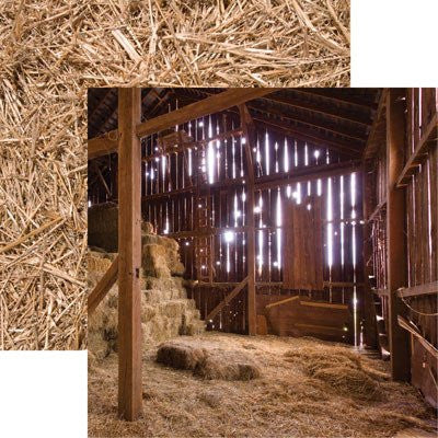 In the Barn - At the Farm 12x12 Scrapbooking Papers - 5pcs - by Reminisce