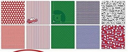 Baseball Scrapbook Paper Set by Reminisce