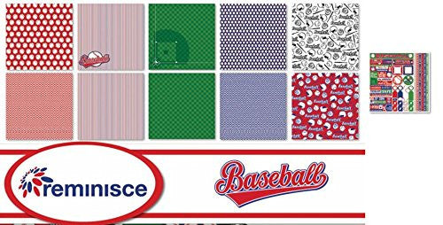 Basketball 2 12x12 Scrapbook Papers /& Stickers Set by Reminisce