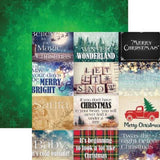 Christmas Spirit 12x12 Scrapbook Papers & Stickers Set