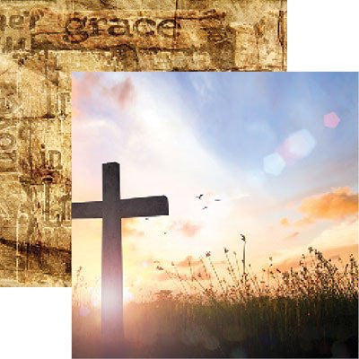 Amazing Grace - Devoted Faith 2 - 12X12 Scrapbook Papers by Reminisce - 5 sheets - by Reminisce