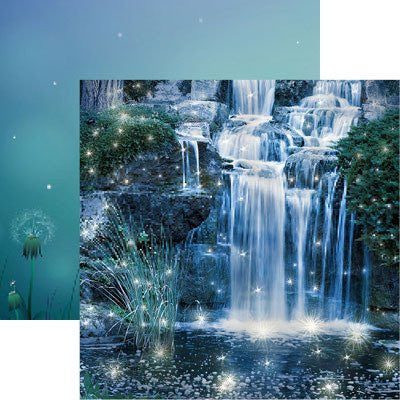Magical Oasis - Fairy Forest 2 - 12X12 Scrapbook Papers by Reminisce - 5 sheets