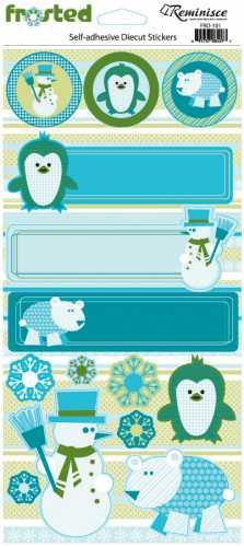 Frosted Icon Cardstock Stickers by Reminisce