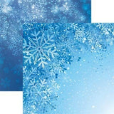 Snowflakes - Jack Frost Scrapbook Paper - 5 Sheets