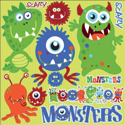 Monsters Stickers by Reminisce