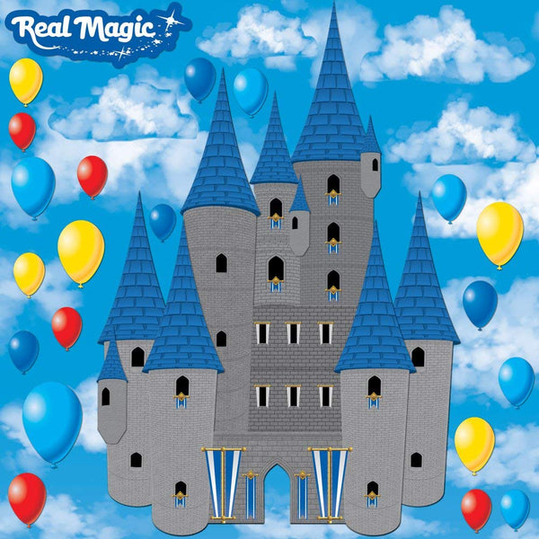 Real Magic 3d Castle Sticker by Reminisce