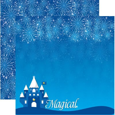 Magical - 12x12 Scrapbook Paper by Reminisce  - 5 Sheets