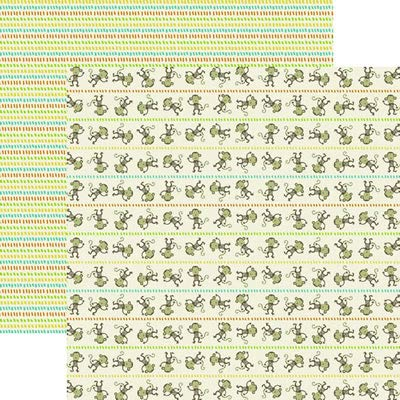 Reminisce Double Sided Paper Dog Park Scentral Park 5 Sheets