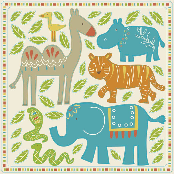Reminisce The Wild Animal Stickers