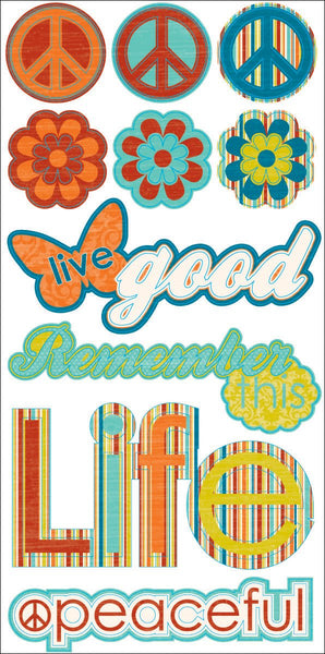 Unwritten Chipboard Stickers by Reminisce