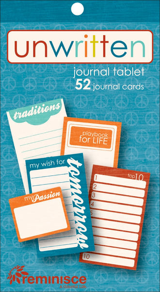 Reminisce Unwritten Journal Pad by Reminisce