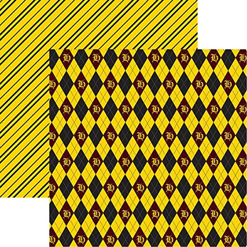 Harry Potter Wizards 101 Plaid Cardstock Paper