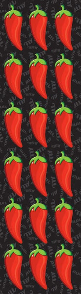 Fiesta Chili Pepper Chipboard Stickers