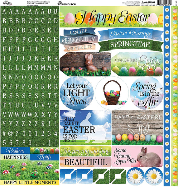 Springtime Easter Stickers by Reminisce