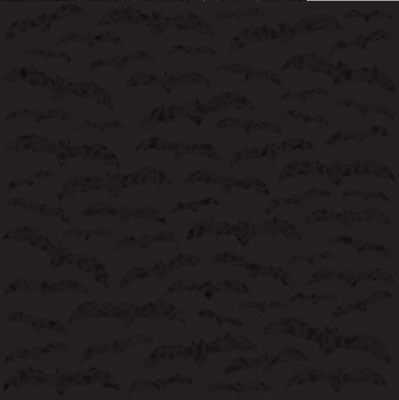 Trick or Treat Glittered Moonlit Bats - 2 Sheets - 12x12 Scrapbook Paper