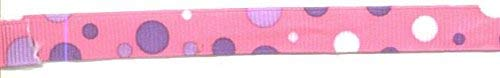 Pink and Purple Polka Dot Ribbon