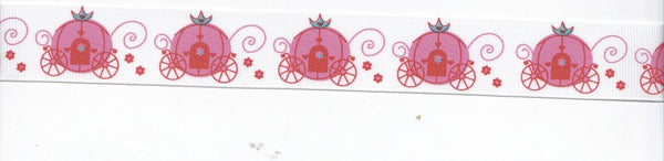 Grosgrain Princess Carriage Ribbon - 5yards