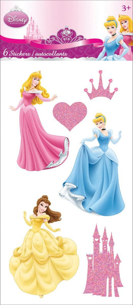 Disney Princess 3d Stickers Essentials