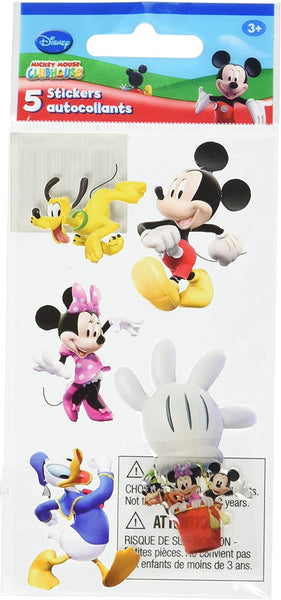 3d Mickey Mouse Clubhouse Stickers