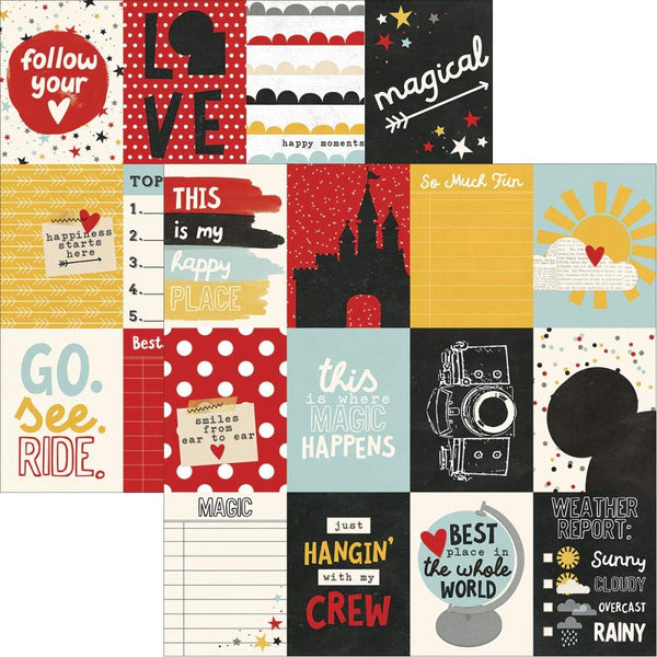 Say Cheese III 3x4 Journal Cards Scrapbook Paper