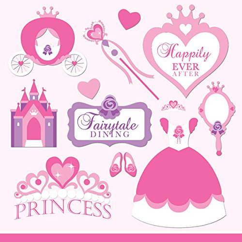Princess Stickers by Scrapbook Customs