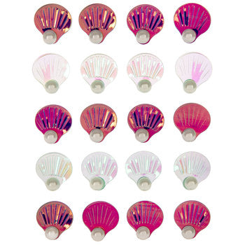 Mermaid Seashell Stickers