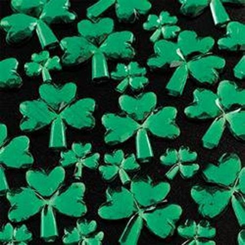 Self Adhesive Acrylic Shamrock Jewels Set - 30ct